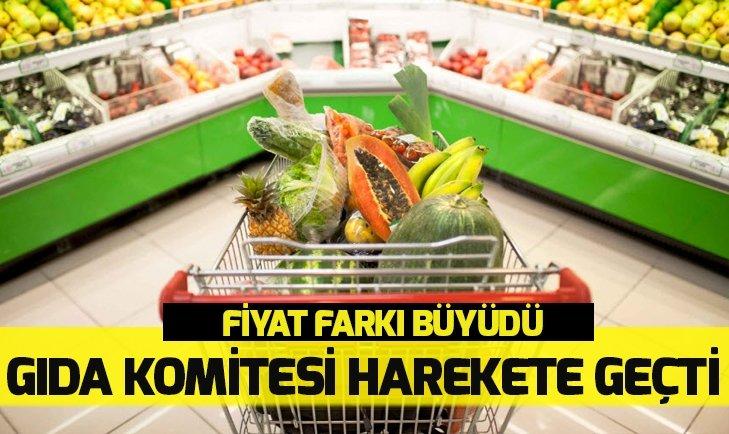 Gıda komitesi harekete geçti