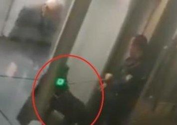 Düsseldorf havalimanında skandal uygulama