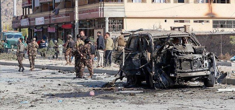 Kabil'de bomba yüklü araçla saldırı!
