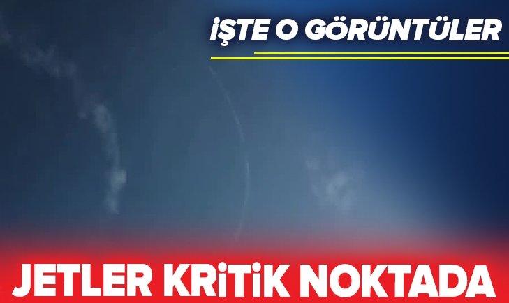 TRÜK JETLERİ MÜNBİÇ SEMALARINDA!