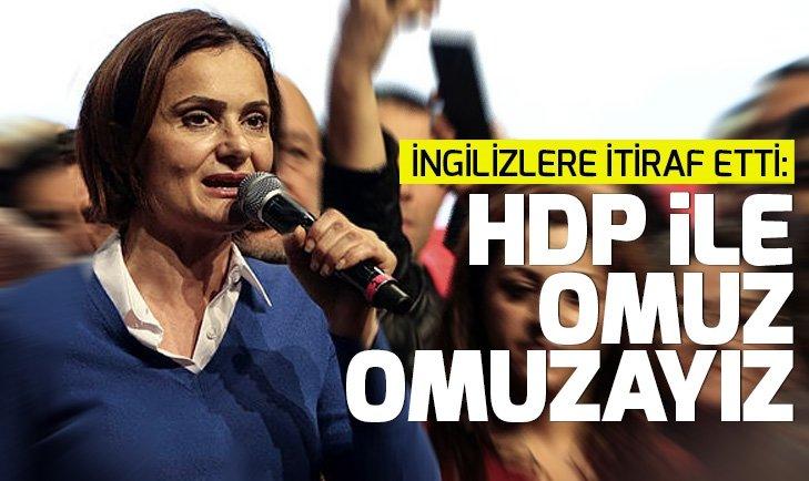 CHP'li Canan Kaftancıoğlu: HDP ile omuz omuzayız