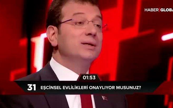 CHP'li Ekrem İmamoğlu'ndan eşcinsel evliliklere destek | VİDEO ...