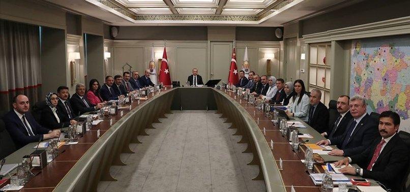 AK PARTİ'DE ÖNEMLİ TOPLANTI