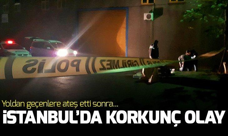 İstanbul'da korkunç olay! Yoldan geçenlere...