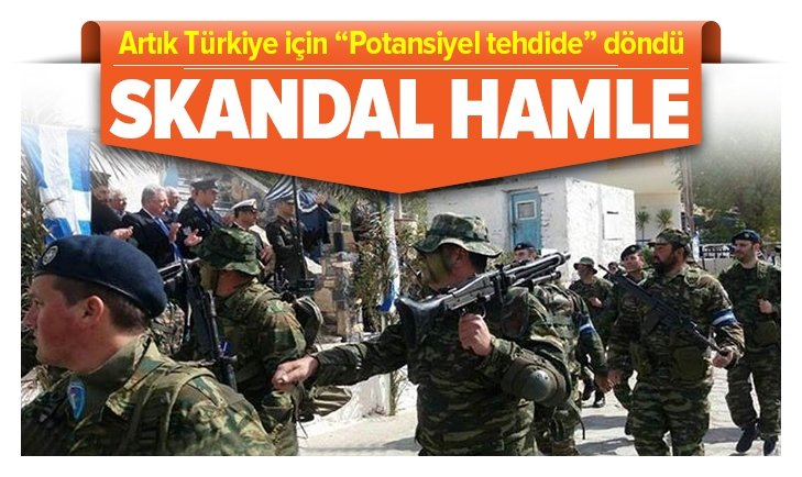 YUNANİSTAN'DAN SKANDAL HAMLE!