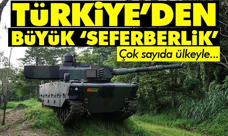 SAVUNMADA BÜYÜK 'SEFERBERLİK!' ÇOK SAYIDA ÜLKEYLE...