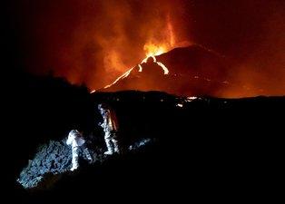 Evler, tarım alanları, okullar... Önüne geleni yok ediyor! La Palma'da lav fırtınası