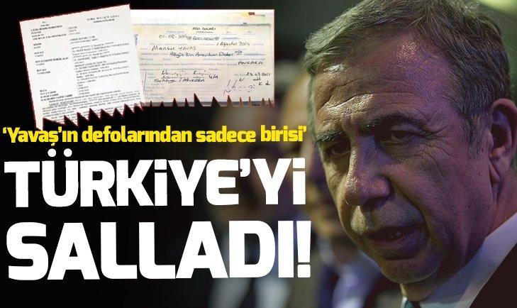 CHP'nin adayı Mansur Yavaş'ın sahte senet skandalı Türkiye'yi salladı!