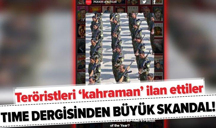 TIME DERGİSİNDEN BÜYÜK SKANDAL!