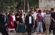 Irkçı Yahudiler Filistinli kadını darp etti