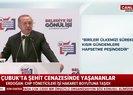 Başkan Erdoğan'dan Çubuk'ta şehit cenazesinde yaşananlarla ilgili flaş açıklama   Video
