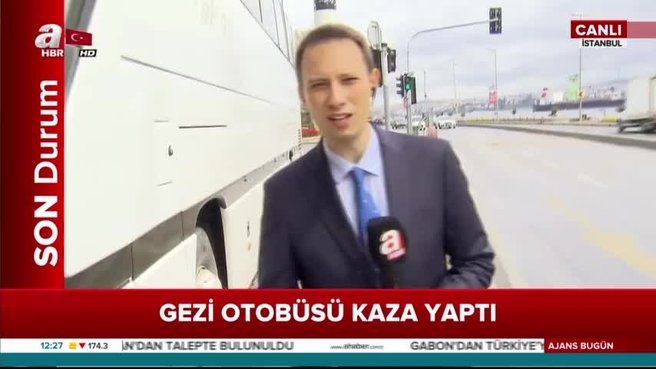 Hakkari'den İstanbul'a gelen öğrencileri taşıyan 2 tur otobüsü çarpıştı!