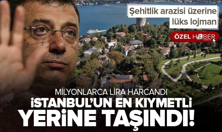 İstanbul'un en kıymetli yerine yerleşti! CHP'li İBB Başkanı İmamoğlu 100 yıllık taş konağa taşındı