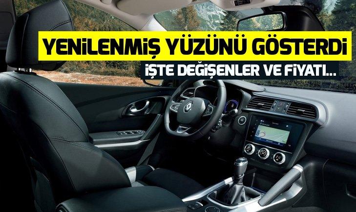 2019 RENAULT KADJAR YENİ HALİYLE ORTAYA ÇIKTI!