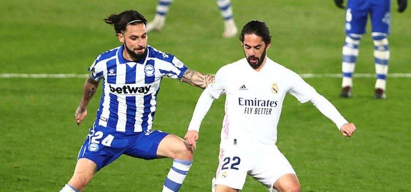 Real Madrid La Liga'da çakılıyor