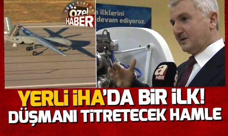 YERLİ İHA ANKA'DA BİR İLK!