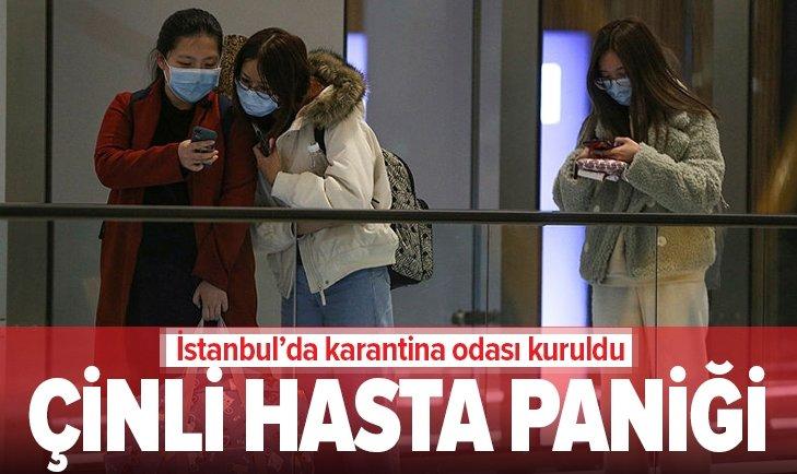 İSTANBUL'DA ÇİNLİ HASTA PANİĞİ