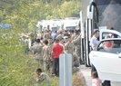 Çanakkale'de askerleri taşıyan otobüs devrildi: 7 yaralı | Video