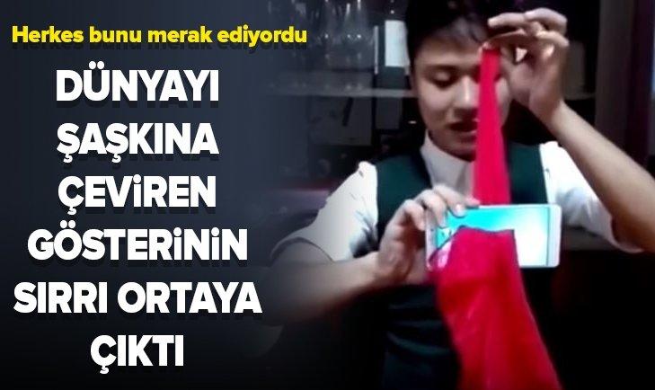 ÜNLÜ GÖSTERİNİN SIRRI ORTAYA ÇIKTI!