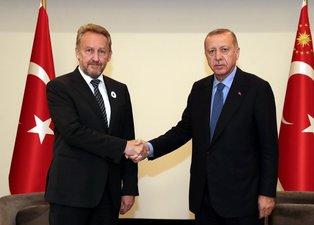 Başkan Erdoğan, Bakir İzzetbegoviç ile görüştü