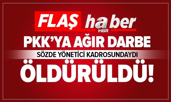 PKK'NIN SÖZDE YÖNETİCİ KADROSUNDAYDI! ÖLDÜRÜLDÜ