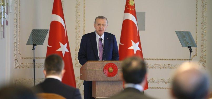 Başkan Erdoğan TİM heyetini kabul etti: Türkiye'yi yeniden bir yükseliş trendine sokuyoruz