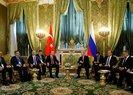 Cumhurbaşkanı Erdoğan ile Putin Kremlin Sarayı'nda görüştü