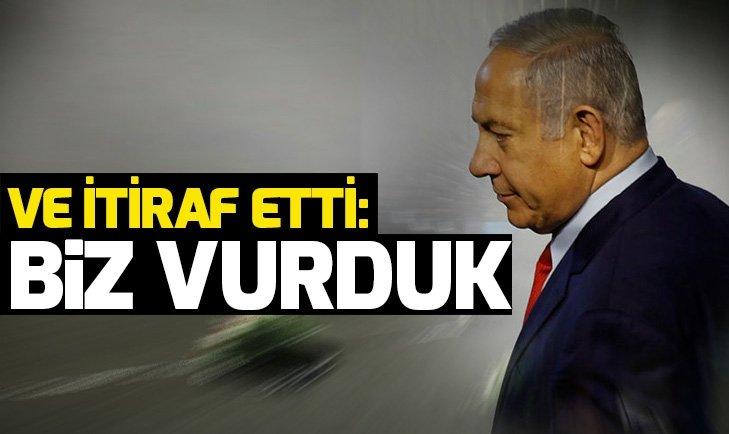İsrail'den Suriye itirafı
