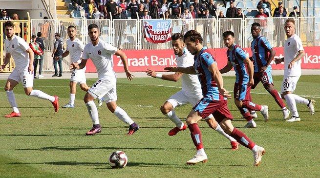 Trabzonspor rahat geçti! (Goller burada)