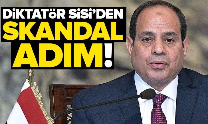DİKTATÖR SİSİ'DEN SKANDAL ADIM!