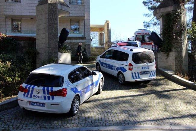 Ünlü iş adamı Ali Armağan'ın villasında intihar şoku