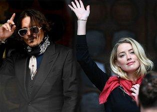 Johnny Depp ve Amber Heard'ün iftira davasında şok sözler: Heard yatağımıza pisleyince...