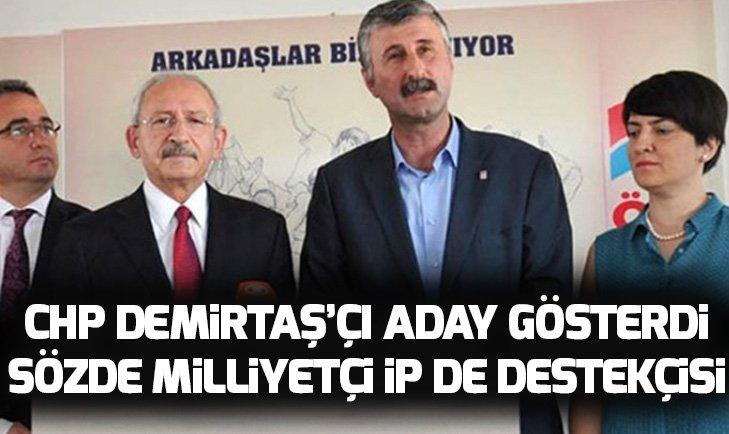 CHP ve İYİ Parti'nin Beyoğlu'nda ortak aday terör sevici Alper Taş oldu!