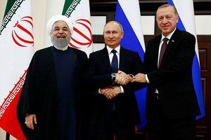 İran, Rusya ve Türkiye iş birliğiyle Suriye'de...