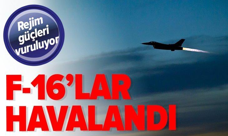 DİYARBAKIR'DAN F-16'LAR HAVALANDI