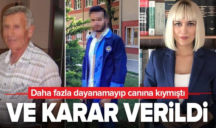 TÜRKİYE'Yİ SARSAN OLAYDA KARAR VERİLDİ