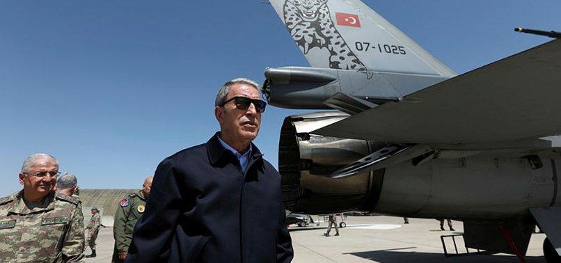 HULUSİ AKAR'DAN S-400 VE F-35 MESAJI