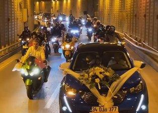 İstanbul Çekmeköy'deki düğün konvoyu terörüne ceza yağdı!