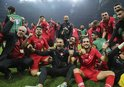 TÜRKİYE'NİN EURO 2020 BİLETİ AVRUPA BASININDA!