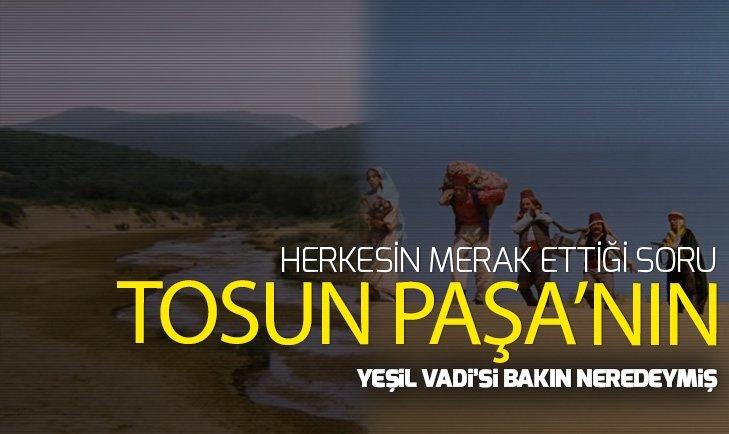 TOSUN PAŞA'DAKİ YEŞİL VADİ'NİN SON HALİ!