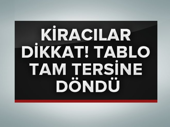 İSTANBUL'DA KİRALIK DAİRE FİYATLARINDA YÜZDE 30'A VARAN DÜŞÜŞLER