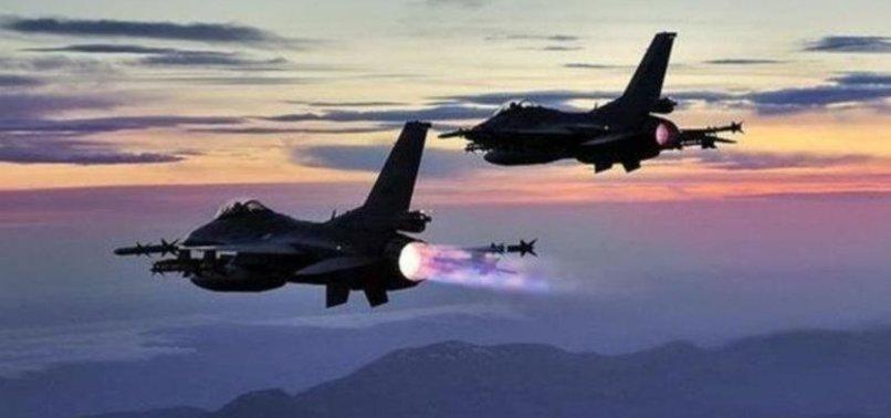 KUZEY IRAK'TA PKK HEDEFLERİ VURULDU