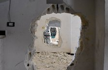 Terörirstler Afrin'i yakıp yıkmış
