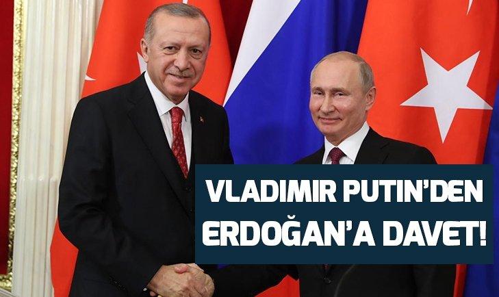 Putin'den Erdoğan'a davet!
