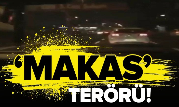 TRAFİK MAGANDALARININ 'MAKAS' TERÖRÜ!