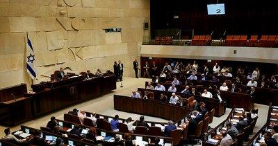 İsrail'deki hükümet çıkmazında yeni gelişme