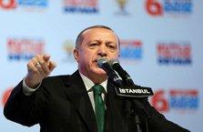 Cumhurbaşkanı Erdoğan'dan kararlı mesaj