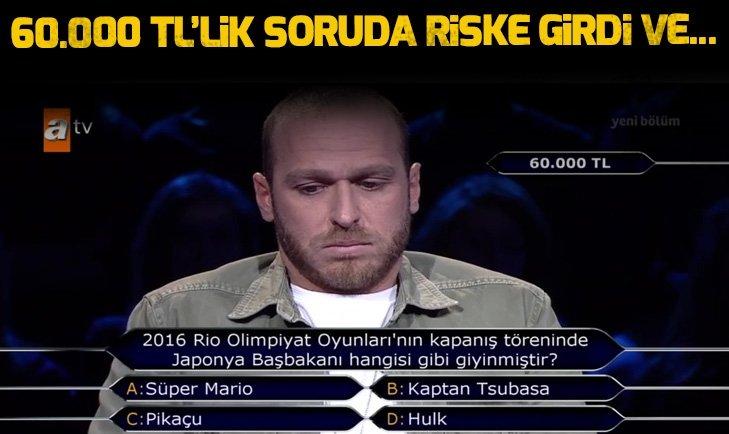 'MİLYONER'DE OLAY! MURAT YILDIRIM'I ŞOKE ETTİ...