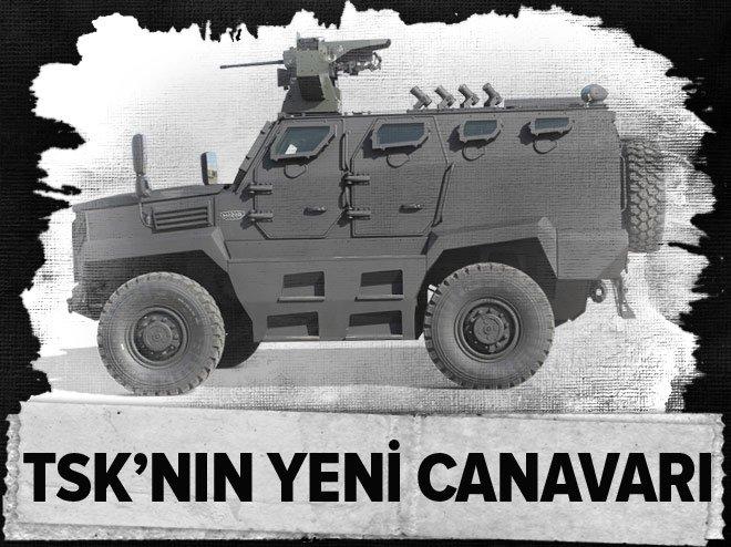 TSK'NIN YENİ CANAVARI