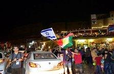 Erbil'deİsrailbayrağıyla kutlama